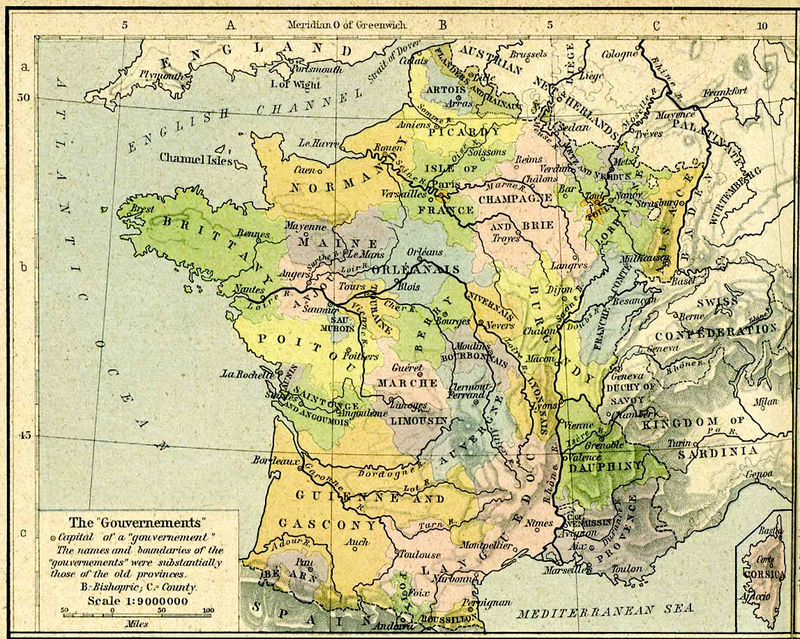 Carte De France Ancien Régime | popkensburg