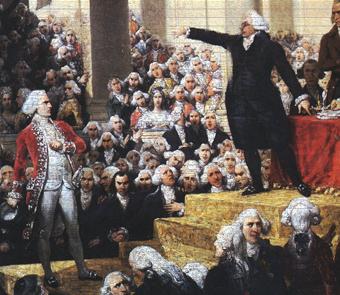 20 juin 1789 : Serment du Jeu de Paume, premier acte d'opposition du peuple face à la monarchie dans HISTOIRE