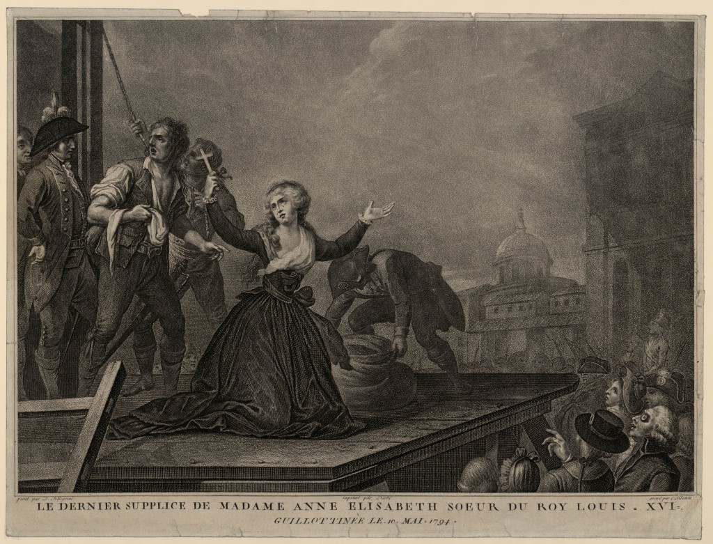ŒUVRES CHRÉTIENNES DES FAMILLES ROYALES DE FRANCE - (Images et Musique)- année 1870  Le-dernier-supplice
